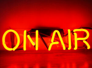"""On Air Red Light Beer Bar Cola Home Wall Poster Night LED Lamp Neon Sign 12""""X 4"""""""