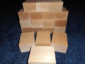 "2"" x 3"" x 4"" Basswood Carving Wood Blocks Craft Lumber *KILN DRIED* BUY IN BULK"