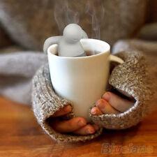 Novel Silicone Infuser Loose Tea Leaf Strainer Herbal Spice Filter Diffuser Good
