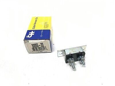 Cole Hersee Type-I Circuit Breaker 30055-20-BP