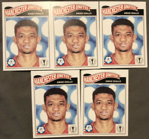(Lot X5) Amad Diallo Topps Living Set Rookie