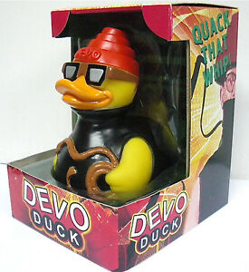 Devo 'Quack That Whip' Rubber Duck: Limited Edition Celebriduck