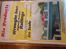 Rix #628-124 Wrought Iron  Railings (4 50' Railing)