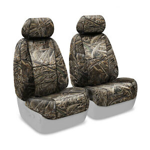 Realtree Max-5 Camo Tailored Seat Covers for Nissan Frontier - Made to Order