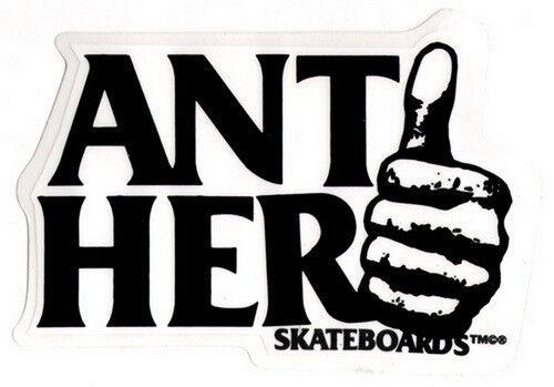 Antihero Thumbhero Skateboard Sticker skate snow surf board bmx guitar van ipad