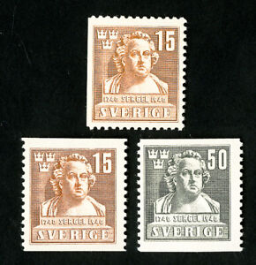 Sweden-Stamps-313-5-Very-Scarce-NH