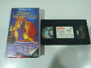 La-Dama-y-el-Vagabundo-LOS-CLASICOS-de-Walt-Disney-VHS-Castellano-2T