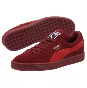 new styles 3faba 98261 Details about NEW!! PUMA Women's Classic Suede Pomegranate-Ribbon Red  Sneaker Shoes Kicks Sz 8