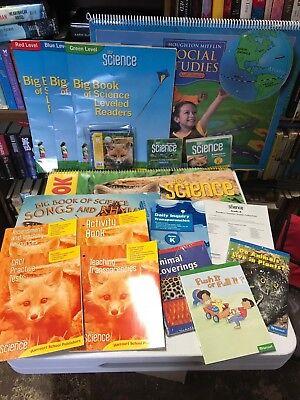Harcourt HSP Science Teacher Resources Lot Kindergarten Classroom Homeschool EBay