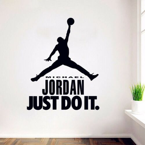 Murales michael jordan pared Sticker