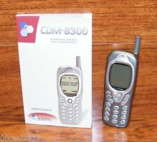 Audiovox CDM 8300 - Gray (Verizon) Speakerphone CDMA Cellular Phone w/ Manual