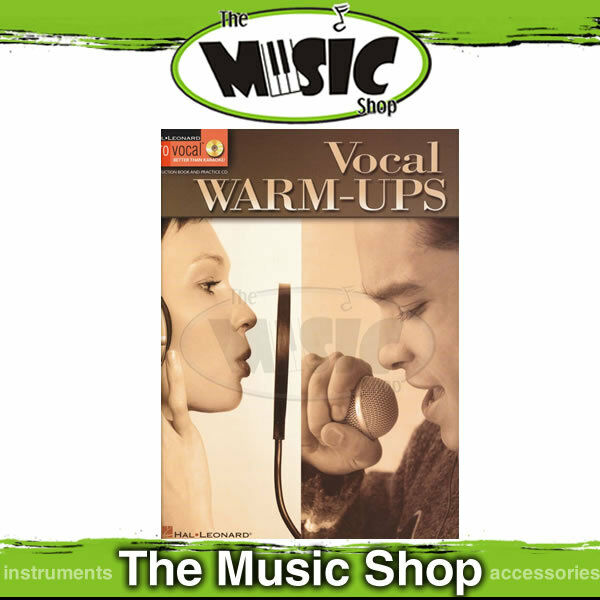 New Vocal Warm Ups Pro Vocal Book & CD - Singing
