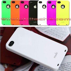 Custodia Cover Case iPhone 4 4S MOSHI IGlaze4 Ultra Sottile Ultra slim Antigraff