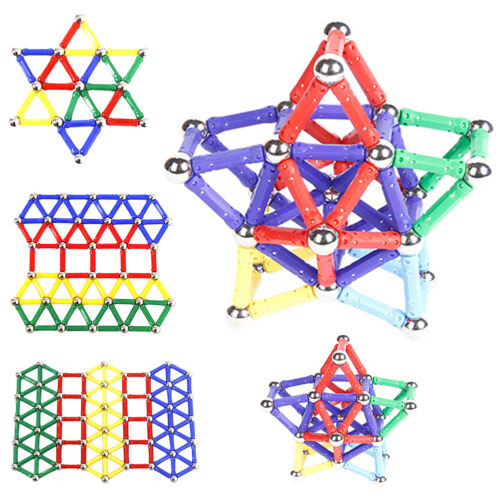 Magnetic rod building blocks Construction Educational Building Child Toys Blocks