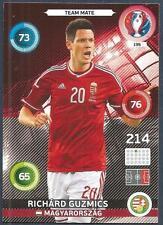 PANINI EURO 2016 ADRENALYN XL CARD- #195-MAGYARORSZAG-HUNGARY-RICHARD GUZMICS