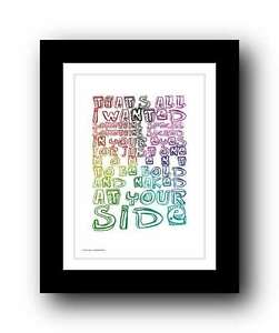 GEORGE-MICHAEL-wham-FATHER-FIGURE-song-lyrics-poster-art-edition-print-20