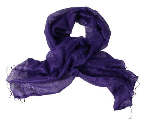 Purple Silk Scarf L//S