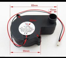 Brushless DC Cooling Blower Fan 12V 0.25A 55x55x28 mm 5028B 2-pin Connector NEW