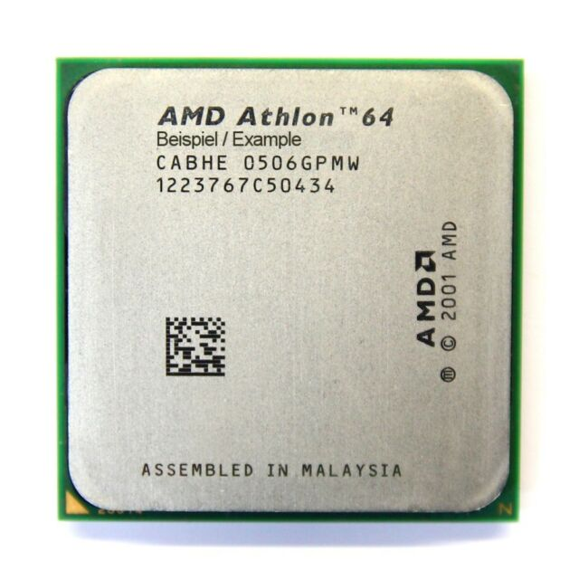 Amd Athlon 64 3400 2 2ghz Ada3400dep4az Processor For Sale Online Ebay