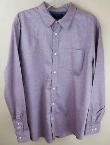 BANANA-REPUBLIC-Mens-Stretch-Soft-Long-Sleeve-Casual-Dress-Shirt-Size-XL