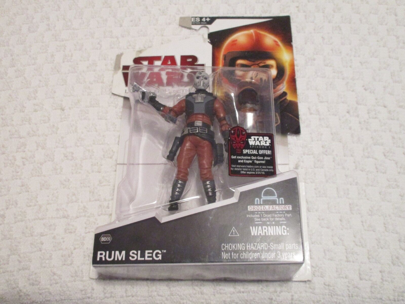 Hasbro Star Wars Legacy Collection BD09 Rum Sleg Action Figure
