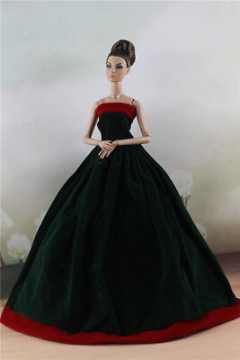 Fashion Party Dress Evening Clothes//Gown For 11 inch Doll #04