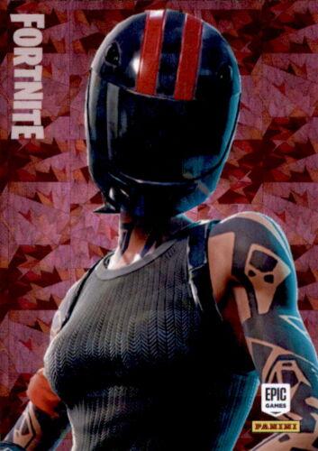 Fortnite trading card nº 227-Redline-Epic-Crystal foil paralelo