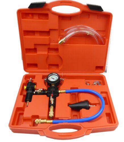Purge /& Refill Tool Kit Universal Radiator Vacuum Cooling Pump System No Bleedin