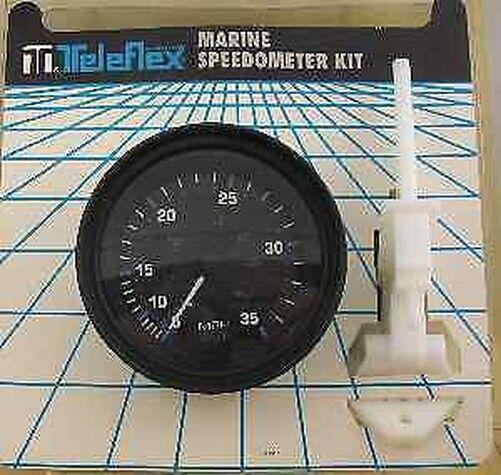 Teleflex 56964p Vector 35 mph Tachometer 3   Messgerät 8580