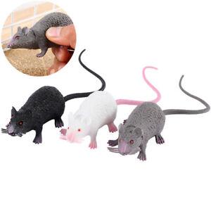 Funny Halloween Scary Props Plastic Lifelike Animal Simulation Toys Fake Mouse