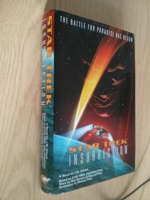 Star Trek IX: Insurrection by Rick Berman, J. M. Dillard (Hardback, 1998)