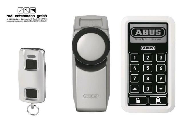 ABUS Funk-Türschlossantrieb Home Tec Pro CFA 3000 S in silber
