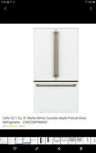 Café™ ENERGY STAR™ 23.1 Cu. Ft. Smart Counter-Depth French-Door...