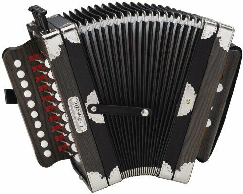 Natural Hohner Diatonic Accordion Ariette One-Row Key of C