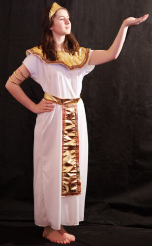 Ancient Egypt-Ancient Rome EGYPTIAN QUEEN CLEOPATRA Fancy Dress Costume