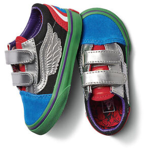 72f806a53cc7 Vans Off The Wall Toddler X Marvel Avengers Old Skool V Shoes