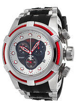 22161 Invicta Reserve Men 52mm Bolt Zeus Swiss Chronograph Silicone Strap Watch