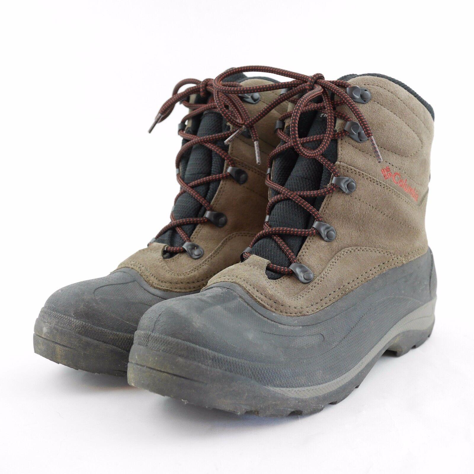 COLUMBIA Acqua resistente alla pelle Rubber Hiking Trail  stivali - Men's 11  punti vendita