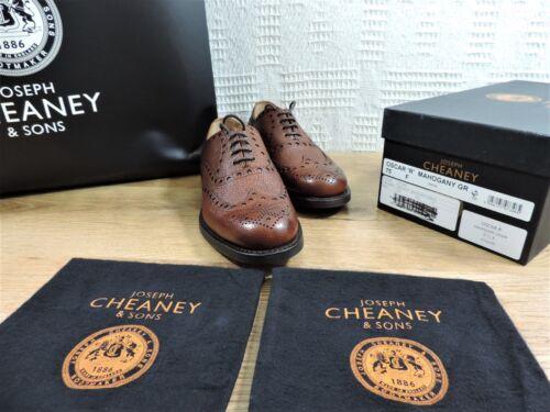 Church's 5 Chaussures Neuf Us Richelieu Noyau Foncé Dainite Uk Cheaney 7 Acajou 7ZvxBndv