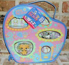 Littlest Pet Shop RARE GOLDEN RETRIEVER 21 SIAMESE CAT 5  Carry Case  2005 VHTF