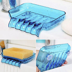 Kitchen-Bathroom-Suction-Soap-Dishes-Sponge-Holder-Tray-Storage-Rack-Creative