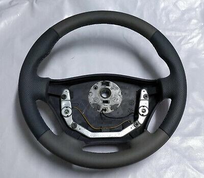 noir Volant Mercedes Sprinter 901,902,903 VITO W638 volant en cuir gris
