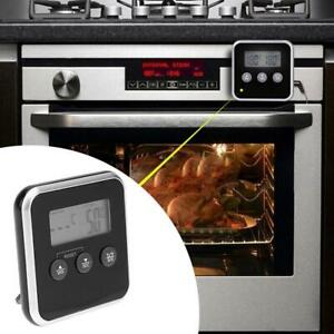 Electronic-LCD-Food-Thermometer-BBQ-Probe-Temperature-Alarm-Cooking-Timer