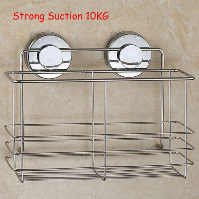 Incroyable Bathroom Suction Cup Corner Shelf Shampoo Organizer Rack Holder Shower  Storage