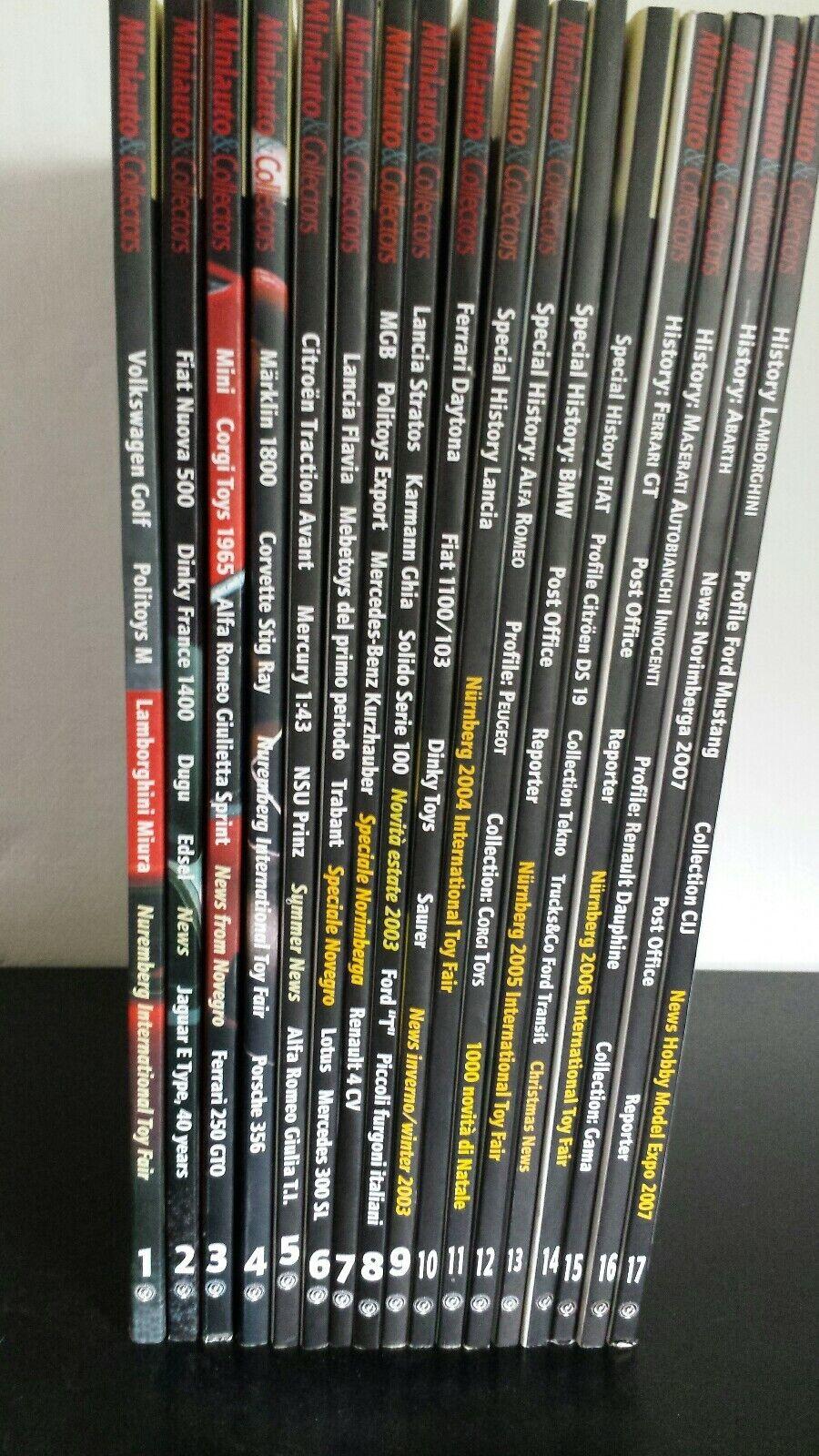 economico e di alta qualità Miniauto & collectors collectors collectors sequenza completa 1 17  a buon mercato
