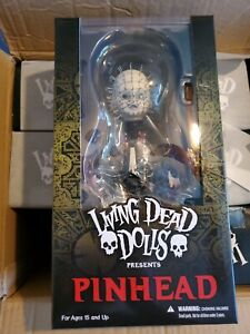 MEZCO-TOYS-LIVING-DEAD-DOLLS-HELLRAISER-PINHEAD-RARE-OUT-OF-PRINT