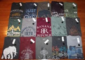 a55f4a7135793 NEW NWT Mens Banana Republic Graphic Logo Elephant Tee T-Shirt 25 ...
