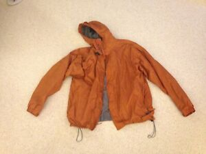 Cabela-039-s-Men-039-s-Outdoor-Gear-Nylon-Waterproof-Hooded-Jacket-Windbreaker-Size-L