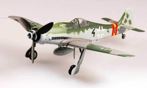 Focke Wulf FW-190D-9 III JG 54 1944 Fertigmodell 1:72 Standfuß Easy Model