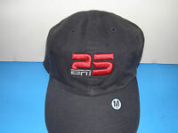 Espn At 25 Years Anniversary 3-d Hat Size M (nwt)